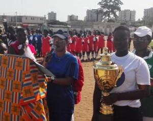 Lancement officiel du Tournoi de football des Femmes initié par les «DJOGNANGO-MIÉ»