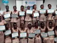 Cérémonie de remise de Diplômes aux étudiants de L'École de leadership des femmes de Fairtrade Africa en Côte d'Ivoire