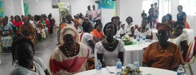 Fairtrade Africa /Côte d'Ivoire :les femmes de l'école du leadership présentent leurs Projets générateurs de Revenus