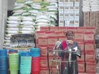 Cérémonie de remise de dons du gouvernement ivoirien aux sinistrés, victimes des pluies diluviennes du 18 au 19 juin 2018.