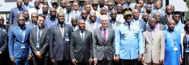 Réunion des chefs de services de sécurité de Police de la CEDEAO dans le cadre du projet WAPIS-SIPAO