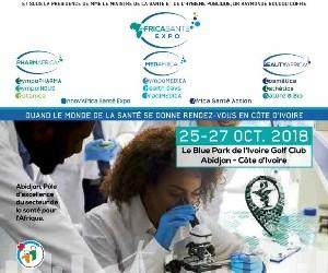 Cérémonie de lancement du salon AFRICA EXPO SANTE 2018