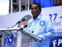 4ème Congrès ordinaire du FPI, à Abidjan.,le président du Front Populaire ivoirien (FPI), Pascal Affi N'Guessan a appelé à la Constitution d'une Alliance