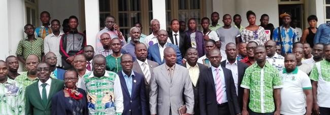 DÉCLARATIONdes Filles,Fils, Jeunes, cadres, militants du PDCI-RDA,De la région du District du Zanzan