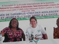 Cérémonie de présentation du projet :«»innovation e-Santé Jeunes» et de sensibilisation des jeunes à leur droit à la santé