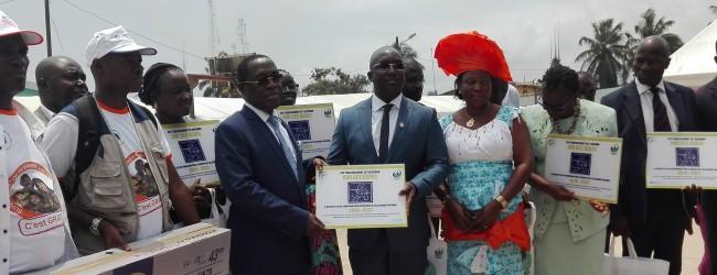 Célébration de la semaine mondiale de l'allaitement maternel couplée au lancement de la supplémentassions en vitamine A et du Déparasitage en routine dans 29 districts sanitaires