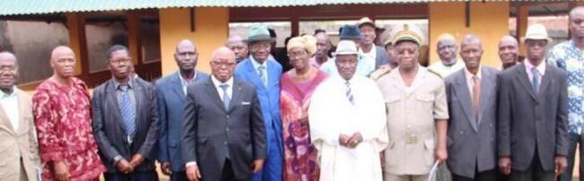 La Fédération des Associations de Fonctionnaires et Agents Retraités de l'Etat de Côte d'Ivoire (FARE-CI),  Investi  sa Délégation territorial du Haut Sassandra