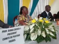 Cérémonie de lancement du Prix PASRES du Jeune Chercheur en Sociologie / Anthropologie à l'amphi Mamadou KOULIBALY de l'ENS
