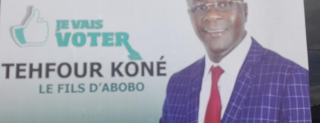 TEHFOUR KONE,candidat indépendant:mes projets pour Abobo