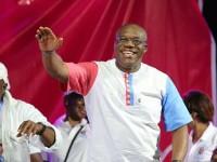 Thierry GUEDE lance sa campagne électorale par un grand meeting populaire