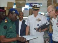 Don d'équipements de l'Ambassade des Etats-Unis àl'infirmerie de Corps de Troupe du Camp Militaire du Génie de Bouaké