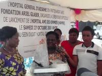 Hôpital Général d'Adjamé:Cérémonie officielle  de lancement de l'hôpital Ami des Hommes (HAMHO).