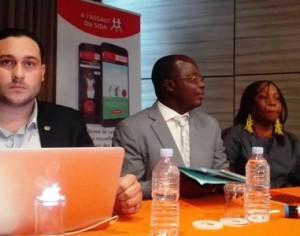 cérémonie de  présentation officiel de la plateforme ludique web/mobile :« A l'Assaut du Sida »