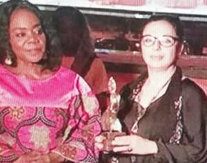 Légende : Du 13 au 17 novembre, les cinéphiles ivoiriens ont pu découvrir 33 films dont «Narcisse» le Long métrage fiction à la réalisatrice tunisienne Sonia Chamkhi. Ph Dr.