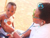 Odienné/Lutte contre la pneumonie en période d'Harmattan, une Ong  vole au secours des enfants