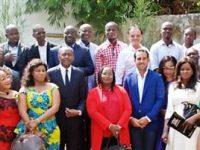 Présentation des vœux de nouvel à Monsieur Siriki Sangaré président de la Chambre Nationale des Promoteurs et Constructeurs agrées de Côte d'Ivoire (CNPC-CI)