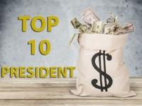La liste 2018 des dix présidents les plus riches au monde