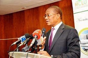 SECTEUR DE L'HABITAT ET DU LOGEMENT EN CÔTE D'IVOIRE : LE MINISTRE BRUNO KONE FACE À LA PRESSE