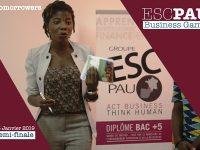 BUSINESS GAME – Les étudiants de l'ESC PAU   Business School engagés dans la transformation de la   pomme de cajou en Côte d'Ivoire