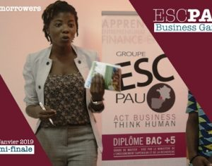 BUSINESS GAME – Les étudiants de l'ESC PAU   Business School engagés dans la transformation de la   pomme de cajou en Côte d'Ivoire