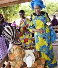 Edition 2019 de la fête des mères :Mme MABRI GÂTE LES FEMMES DE DALOA