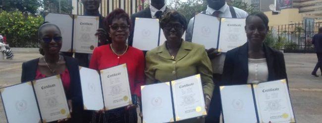Côte d'ivoire :cérémonie de remise de Diplômes aux formateurs et conférenciers en MIND EDUCATION