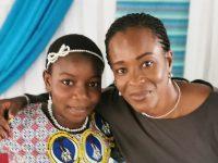 Coin de bonheur / la petite Yoboukoi Dioulo Divine Grace désormais dans la grande Famille des Chrétiens !