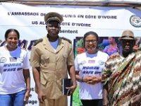 Adoumangan / Jacqueville : US ALUMNI CI sensibilise 150 femmes sur leur autonomisation.