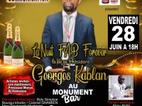 La Grande soirée FAB FOREVER:Nuit de célébration du président Georges Kablan, ce vendredi 28 juin 2019