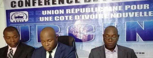 CÔTE D'IVOIRE /REFORME DE LA CEI: L'UNION RépublicainE POUR LA COTE D'IVOIRE NOUVELLE (URCIN) SE PRONONCE