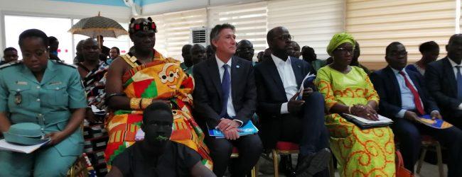 L'UNICEF nomme Jean-Michel Onnin, champion pour les enfants et lance son guide de plaidoyer des jeunes