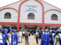 EGLISE METHODISTE UNIE COTE D'IVOIRE  Le Bishop Benjamin Boni dédicace le Temple Israël d'Assié Koumassi (Bongouanou)