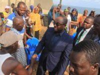 Visite du maire de Port bouet à vridi canal