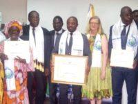 Dr Emmou Sylvestre, Maire de la Commune de Port-Bouet, distingué Ambassadeur de paix par la Fédération pour la Paix Universelle (UPF)