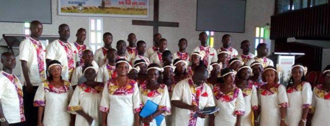 Diaspora Méthodiste Uni du Moronou (Bongouanou):La chorale YE DJASU présente son riche répertoire