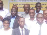 Atelier d'information et de renforcement du cadre de collaboration des parties prenantes du secteur de l'aquaculture en côte d'ivoire