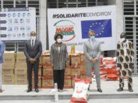 Solidarité Covid-19Civ : Après le District d'Abidjan la 2ème phase de la caravane de la Fondation Magic System à l'assaut de 10 villes du pays
