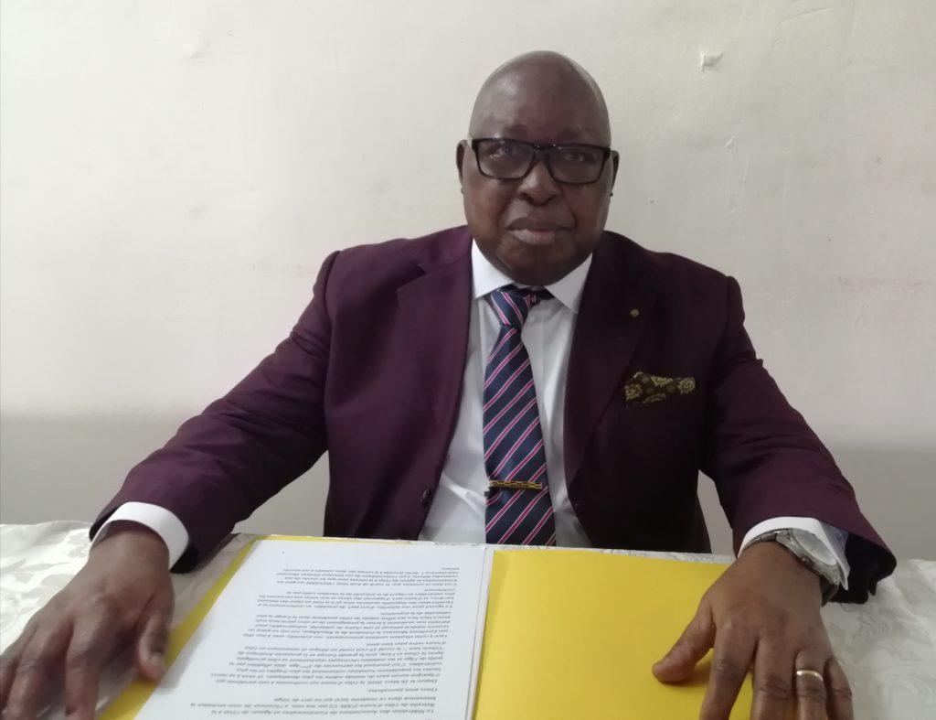 Point de presse de la fédération des Associations de Fonctionnaires et Agents de l'Etat à la Retraite de Côte d'ivoire (FARE-CI) suite à la remise de Dons de l'IPS-CGRAE dans le cadre de la lutte contre le Covid 19