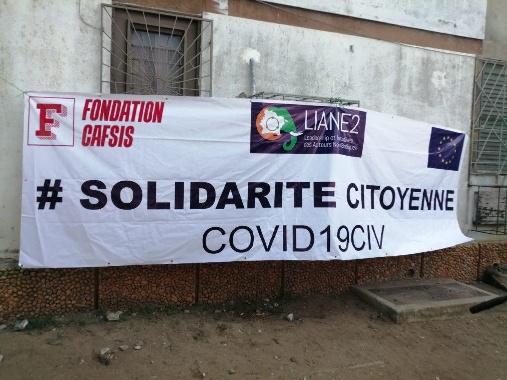 Côte d'Ivoire /Lutte contre le Covid19 :la Fondation CAFSIS offre des kits alimentaires et sanitaires aux populations d'Adjamé 220 logements