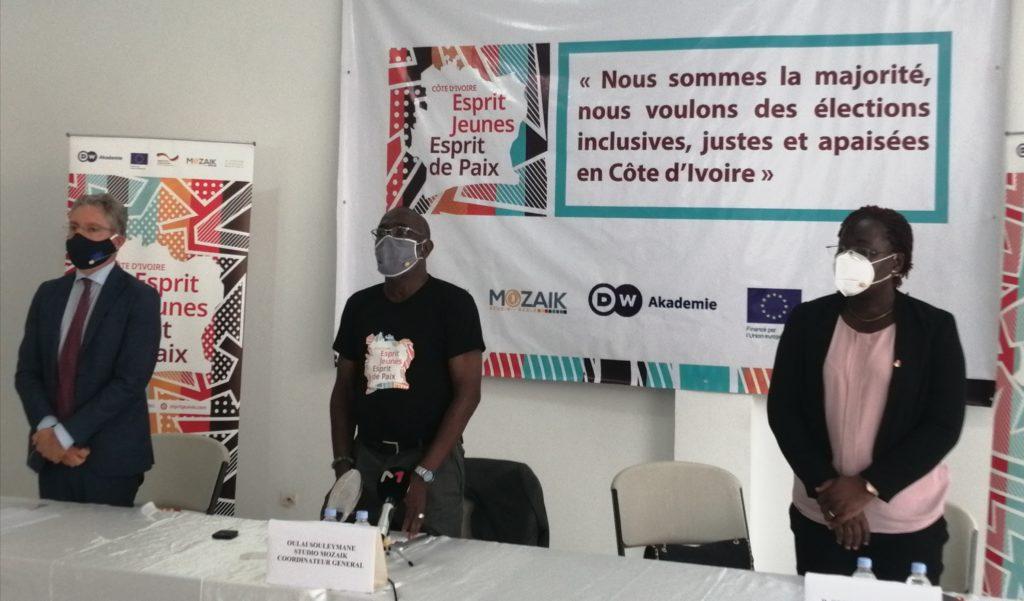 lancement du projet  « Esprit Jeunes, Esprit de Paix »