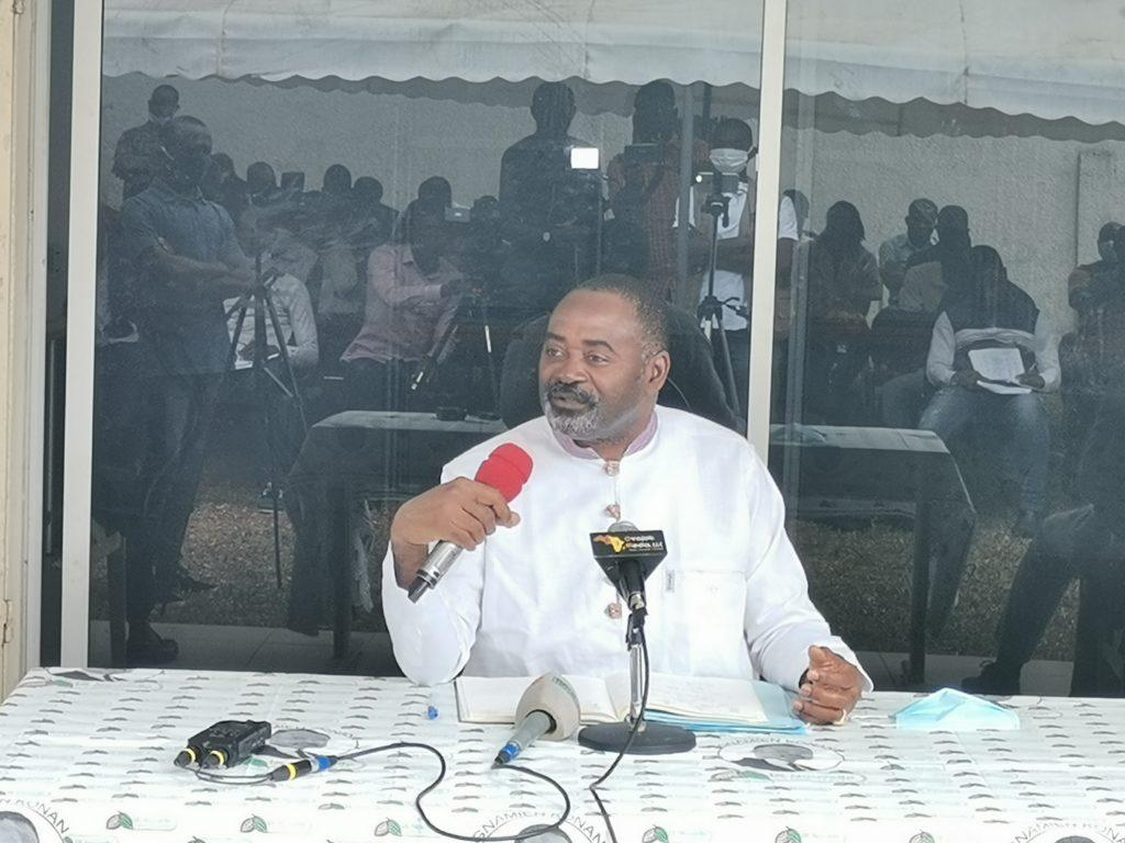 Conférence de presse du jeudi 17 septembre 2020 du candidat à l'élection présidentielle, GNAMIEN Konan, suite à l'invalidation de sa candidature par le Conseil Constitutionnel.