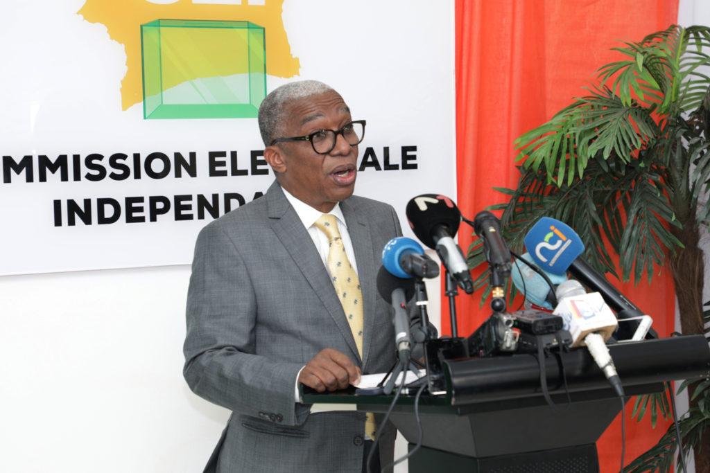 Côte d'Ivoire /CEI:Point de presse sur les statistiques de la Liste Électorale Définitive