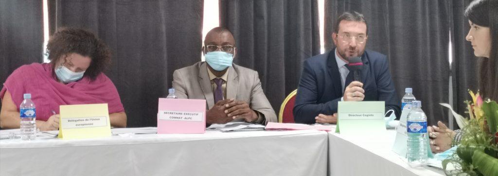 2ieme Comité de suivi opérationnel du Projet d'appui à la politique nationale de contrôle du trafic et de la circulation illicite d'armes légères et de petit calibre et de prévention de la violence armée (Cisalw)