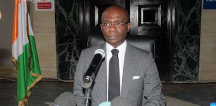 Conférence de presse du procureur de la république Adou Richard le mardi 06 octobre 2020 à Abidjan