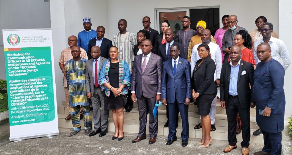"""Visibilité institutionnelle de la CEDEAO : Abidjan abrite le premier atelier des chargés de communication des institutions et agences sur la """"Charte graphique et l'identité visuelle de la CEDEAO """"."""