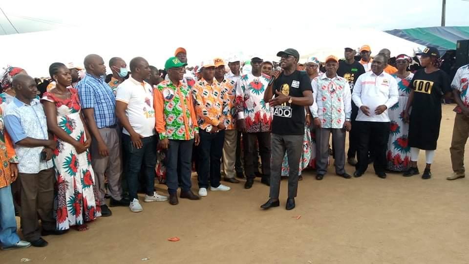 Côte d'Ivoire /Abobo :CÉLÉBRATION DE LA VICTOIRE DU RHDP A L'ÉLECTION PRÉSIDENTIELLE D'OCTOBRE 2020