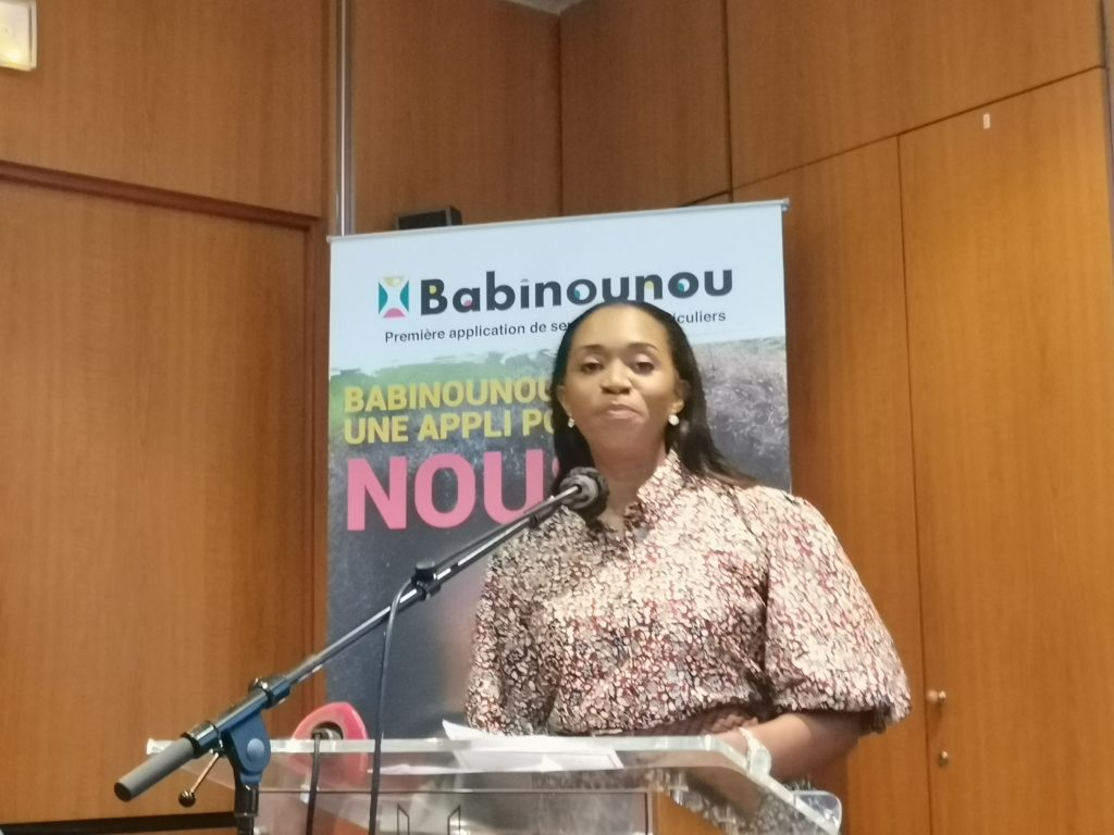Conférence de présentation de Babinounou, votre nouvelle application 100% made in Côte d'ivoire.