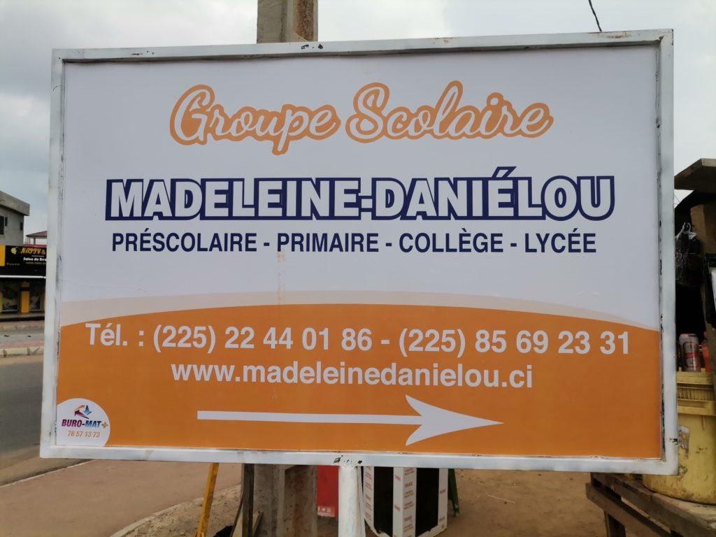 INAUGURATION DU GROUPE SCOLAIRE MADELEINE DANIÉLOU BINGERVILLE – Le 15/01/2021 : LA PROMESSE D'UNE ÉDUCATION D'EXCELLENCE POUR NOS FILLES