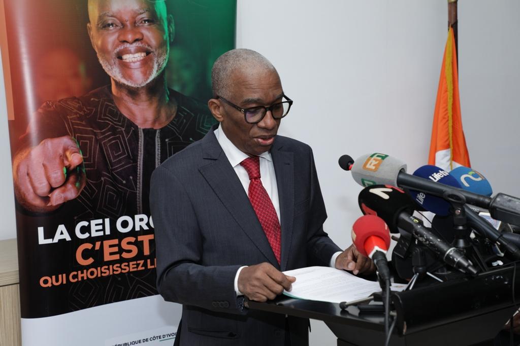 Côte d'Ivoire :Point de Presse de la  Commission Electorale Indépendante (CEI) du 20/01/2021