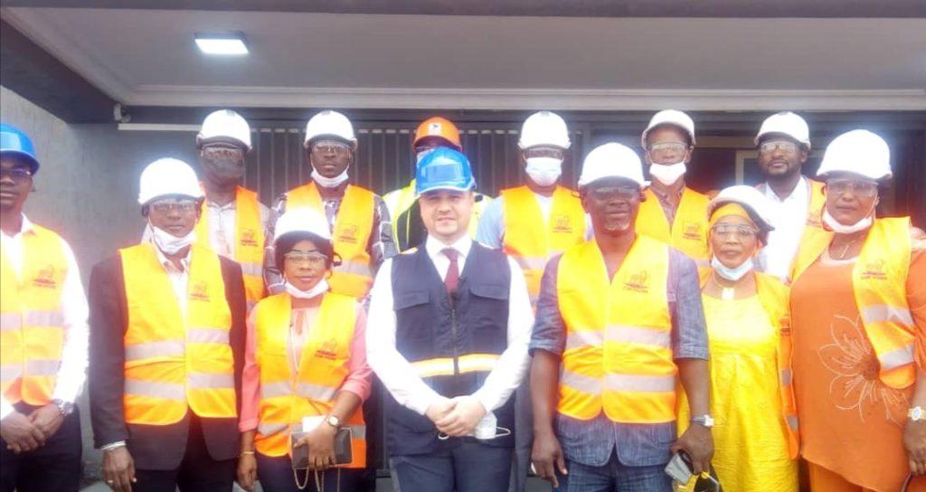 Journée portes ouvertes de la société CIM Ivoire